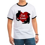 Fat Cat & Cat Lover Ringer T