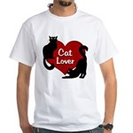 Fat Cat & Cat Lover Men's Classic T-Shirts