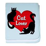 Fat Cat & Cat Lover baby blanket