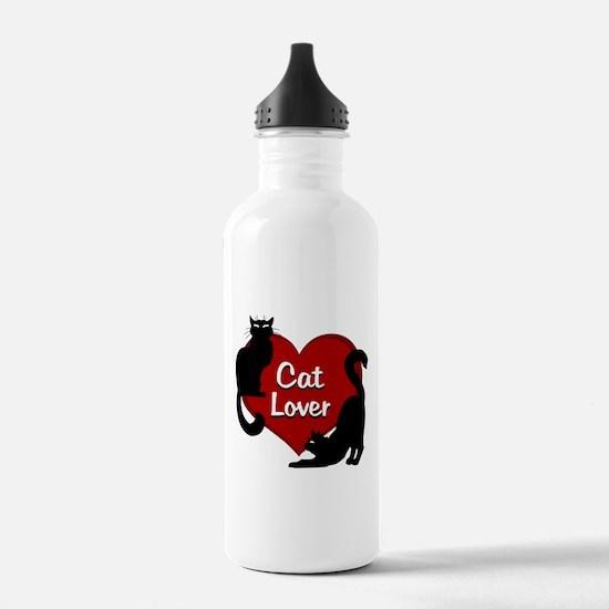 cat lover Water Bottle