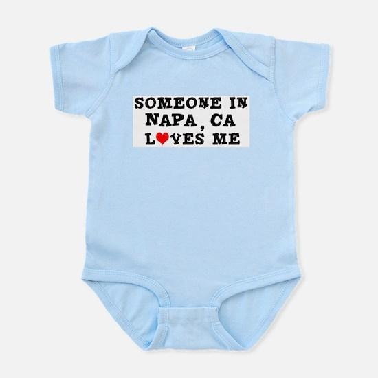 Someone in Napa Infant Creeper