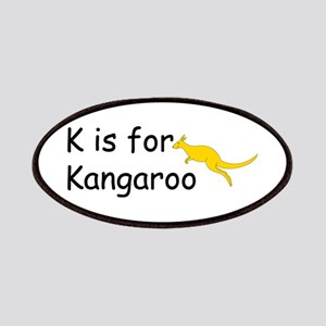 K is for Kangaroo Patches