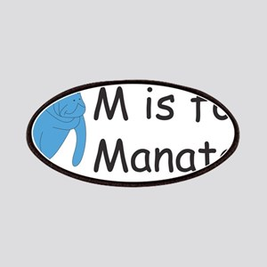 M is for Manatee Patches