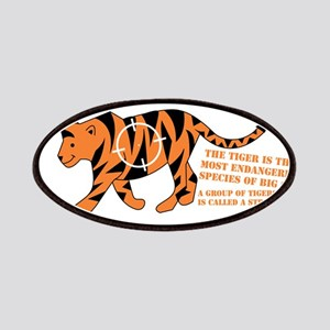 Tiger Facts Patches