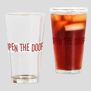 Open the Door Drinking Glass