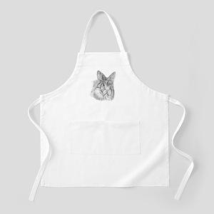 Fluffy Bunny BBQ Apron