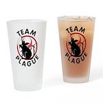 Team Plague Drinking Glass