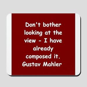 Gustav Mahler Mousepad
