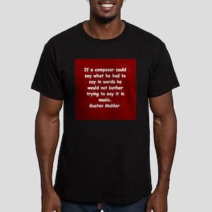 Gustav Mahler Men's Fitted T-Shirt (dark)