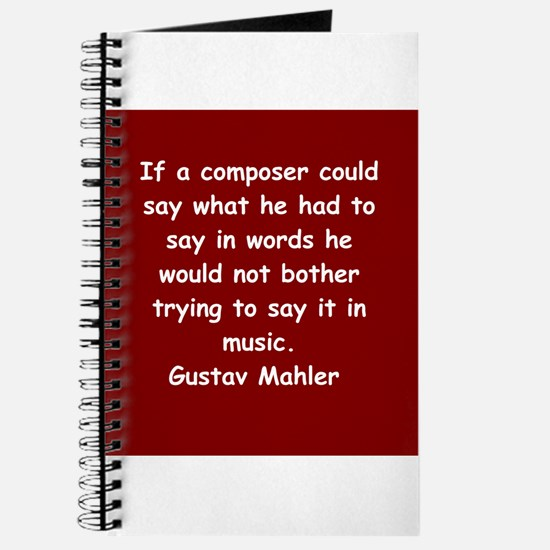 Gustav Mahler Journal