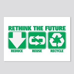 Rethink The Future, Recycle Postcards (Package of