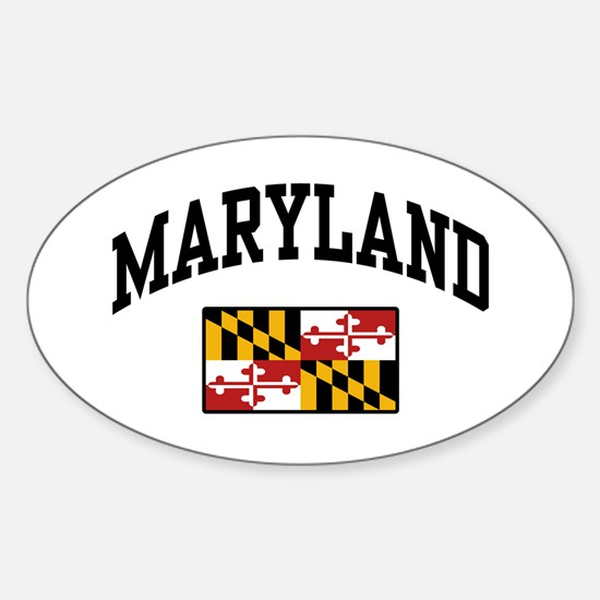 Maryland Sticker (Oval)