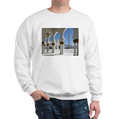 Grand Mosque Porticoes Sweatshirt