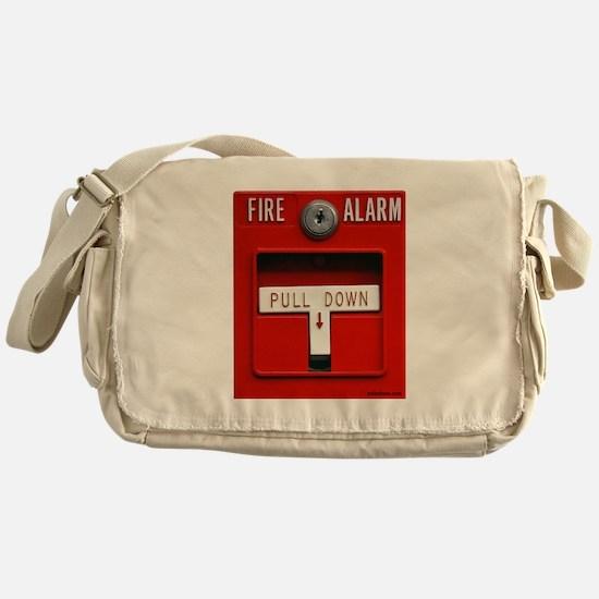 FIRE ALARM Messenger Bag