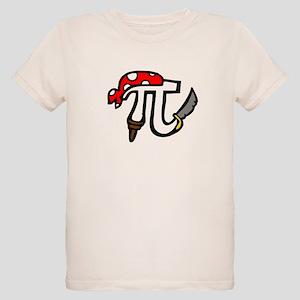 Pi Pirate Organic Kids T-Shirt