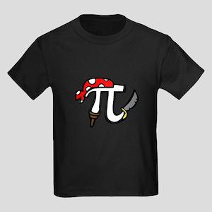 Pi Pirate Kids Dark T-Shirt