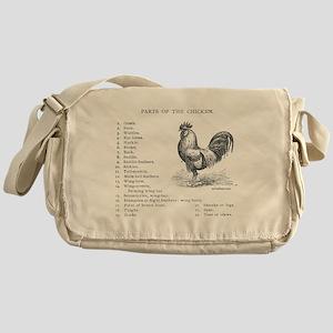 CHICKEN PARTS Messenger Bag