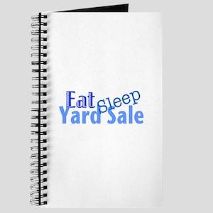 Eat Sleep Yard Sale Journal
