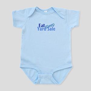 Eat Sleep Yard Sale Infant Bodysuit