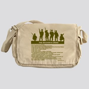 SOLDIER'S CREED Messenger Bag