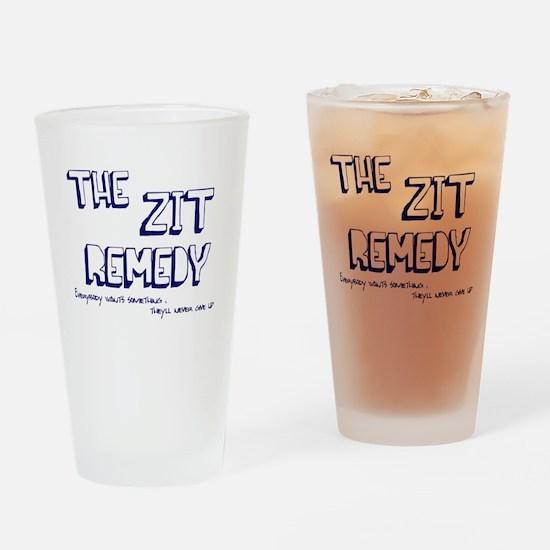 Zit Remedy Drinking Glass
