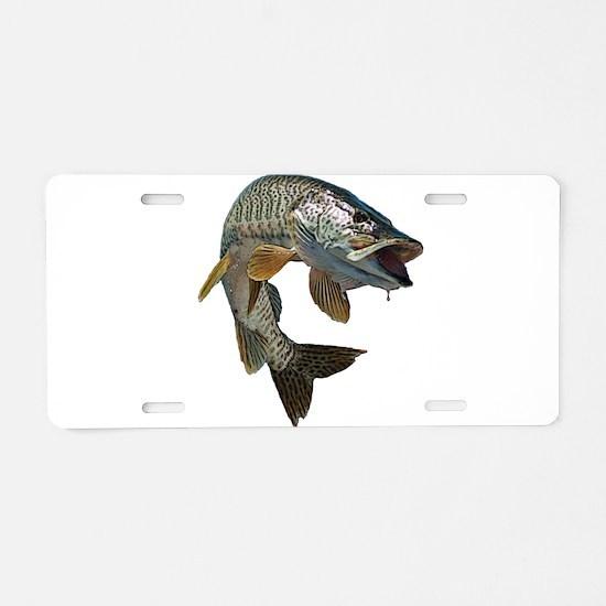 Musky 4 Aluminum License Plate