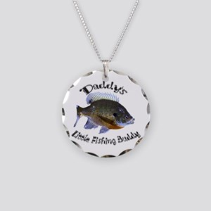 Daddy's buddy Necklace Circle Charm