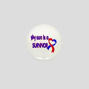 Son CHD Survivor Mini Button