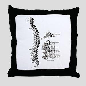 spine Throw Pillow