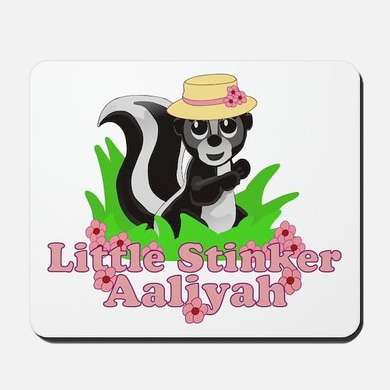 Little Stinker Aaliyah Mousepad