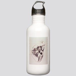 heart anatomy Stainless Water Bottle 1.0L