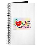 Only Love Prevails Journal