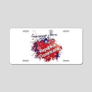 REP. DOMINICANA Aluminum License Plate