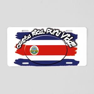 COSTA RICA Aluminum License Plate