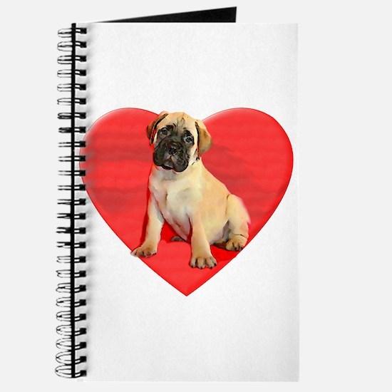 Bullmastiff puppy dog Journal