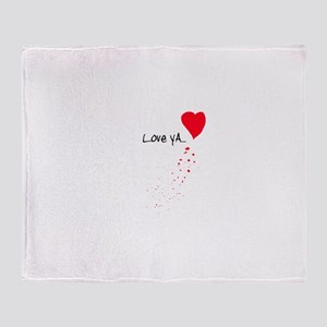 Love Ya Throw Blanket