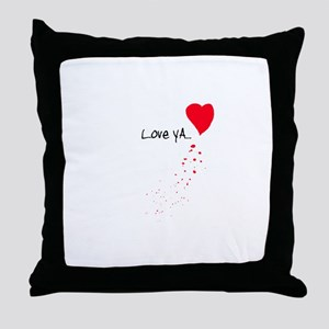 Love Ya Throw Pillow