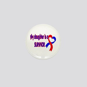 Daughter CHD Survivor Mini Button