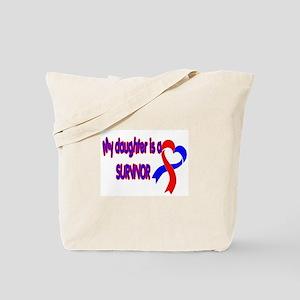 Daughter CHD Survivor Tote Bag