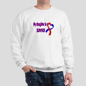 Daughter CHD Survivor Sweatshirt
