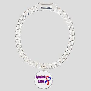 Daughter CHD Survivor Charm Bracelet, One Charm