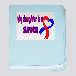 Daughter CHD Survivor baby blanket
