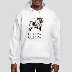Chow Chow Breed Type Hooded Sweatshirt