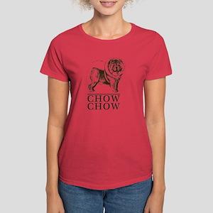 Chow Chow Breed Type Women's Dark T-Shirt