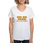 Bachelor - Dead Man Walking Women's V-Neck T-Shirt