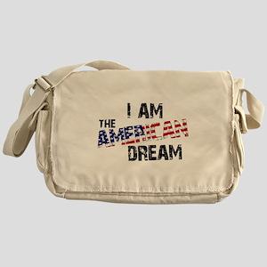 I Am The American Dream Messenger Bag