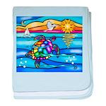 Sea Turtle #8 baby blanket