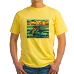 Sea Turtle #8 Yellow T-Shirt