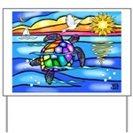 Sea Turtle #8 Yard Sign