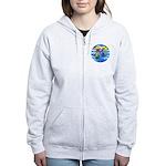 Sea Turtle #8 Women's Zip Hoodie